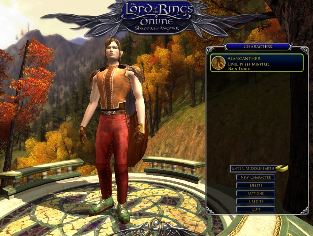 The Lord Of Rings Online